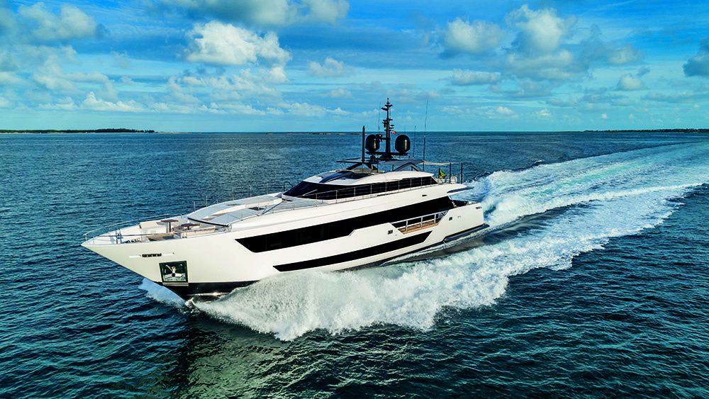 Fraser Custom Line Vista Blue In Pictures Fraser Yacht Design Blue