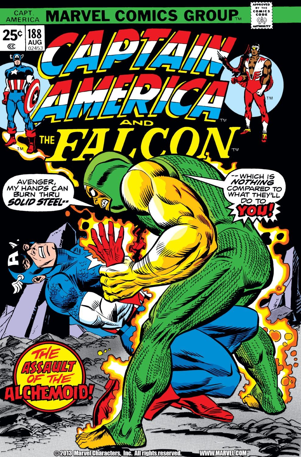 Captain America (1968) Issue #188 - Read Captain America (1968) Issue #188 comic online in high quality