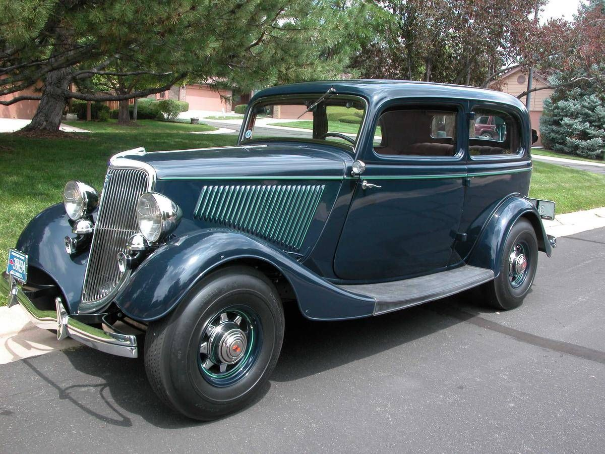 1934 Ford Tudor 40A-70B Deluxe   AUTOMOBILE   Pinterest   Ford, Cars ...
