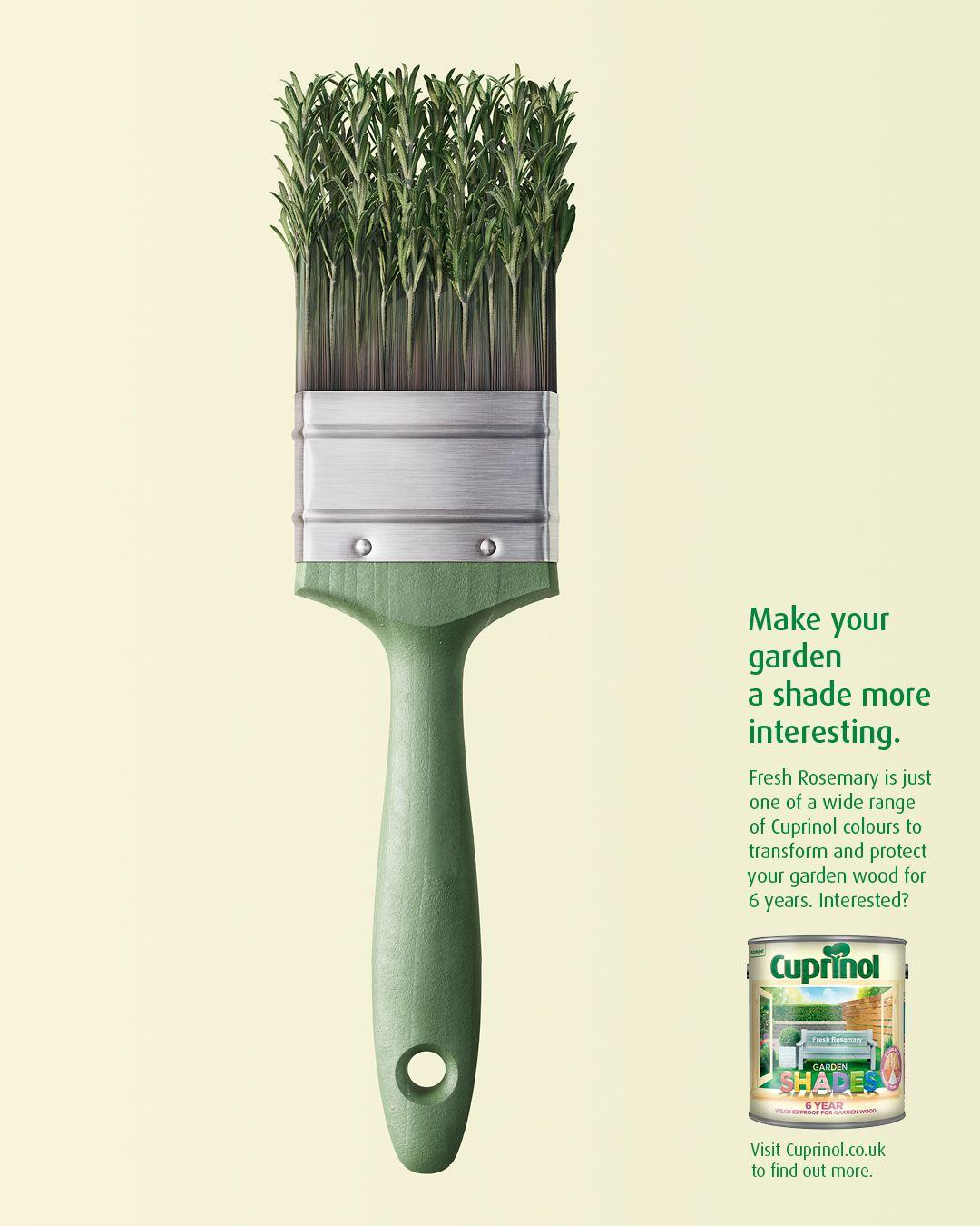 Cuprinol Adgoodness Design Print Layout Graphic Design Advertising Ads Creative