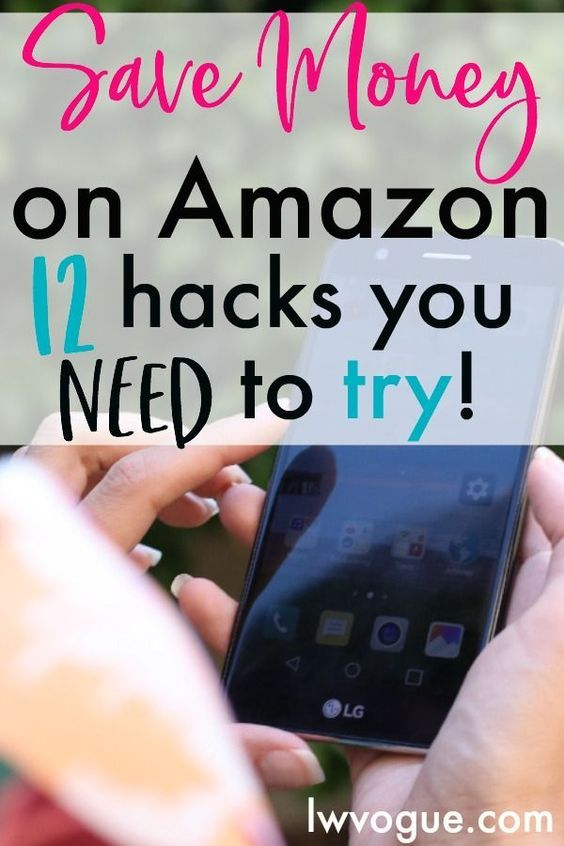 Learn how to save the most money on amazon with these easy money saving tips. Try these 12 saving money hacks the next time you shop! #savingmoney #moneysavingtips #moneysavers