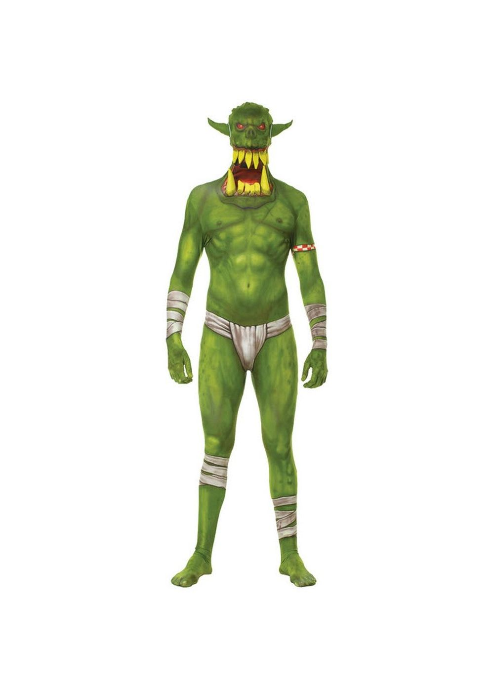 Green orc jaw dropper men costume 2015 men costumes pinterest green orc jaw dropper men costume solutioingenieria Choice Image