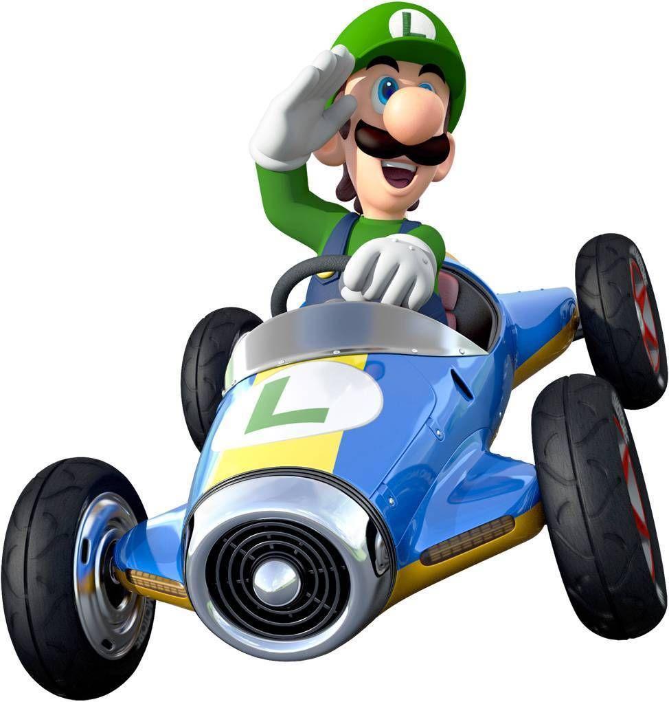 13 49 Luigi Race Car Super Mario Bros Decal Removable Wall Sticker Decor Art Kart 8 9 Ebay Home Garden Decoracion De Mario Bros Super Mario Bros Mario