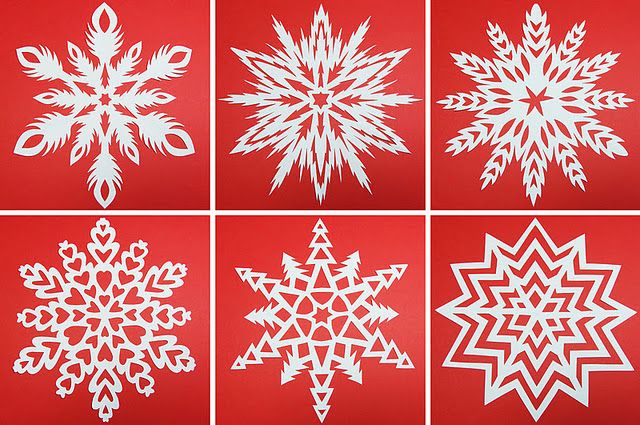 How To Make A 6 Pointed Paper Snowflake