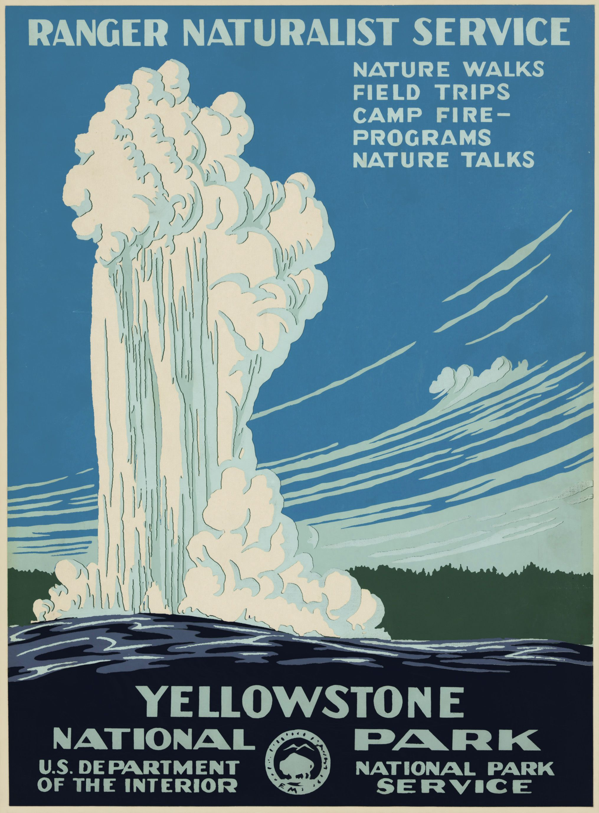 Yellowstone National Park Map Travel Tips Httpairplanediscount - Map of us national parks poster