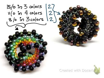 gwenbeads: How to Make a Rainbow Twist Beaded Bead