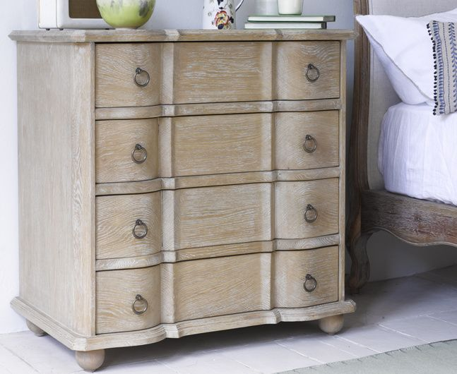 Otterley French Furniture Drawers And Bedrooms - Weathered oak bedroom furniture