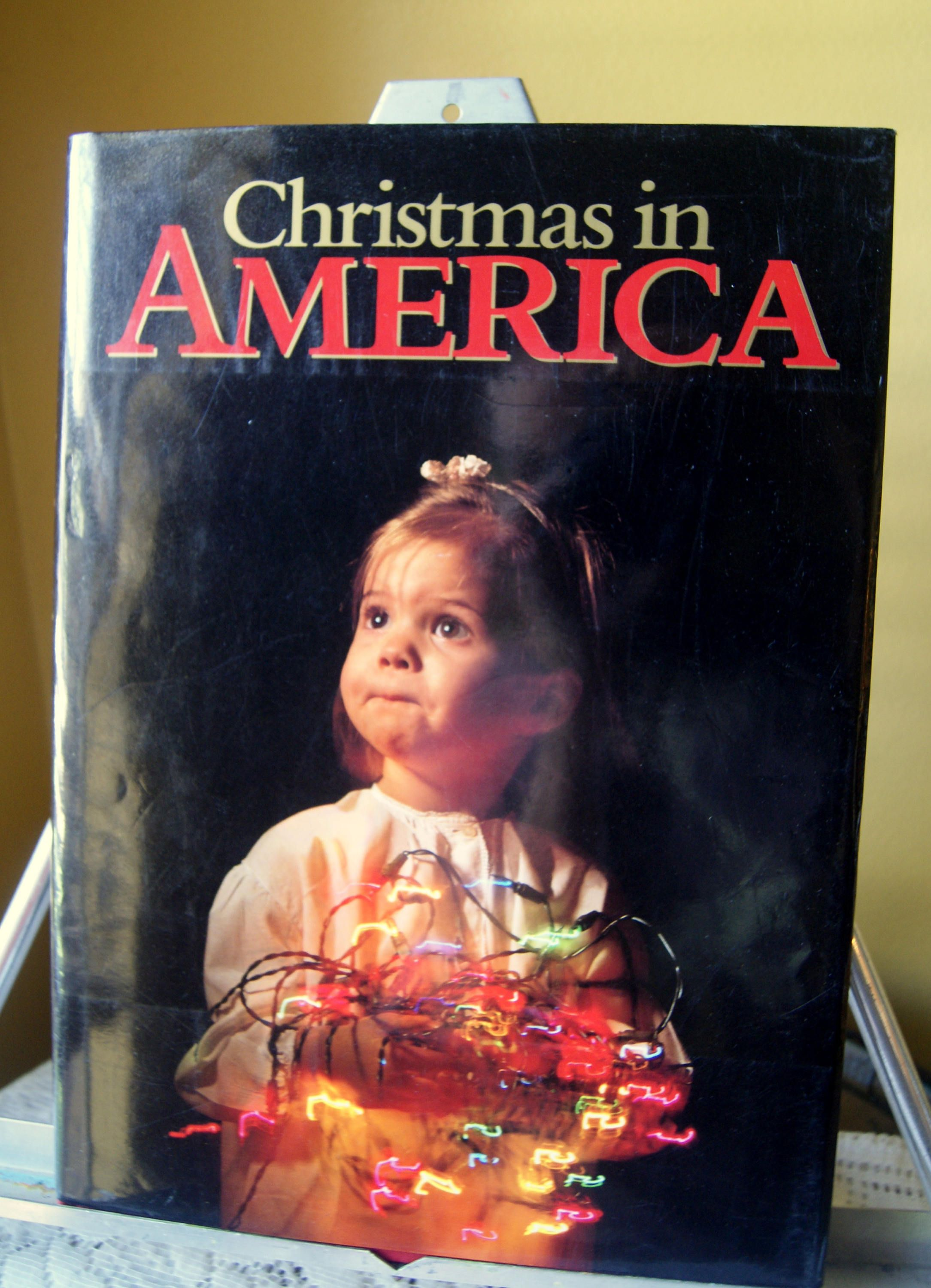 Vintage Book, Christmas in America, From Thanksgiving to ...