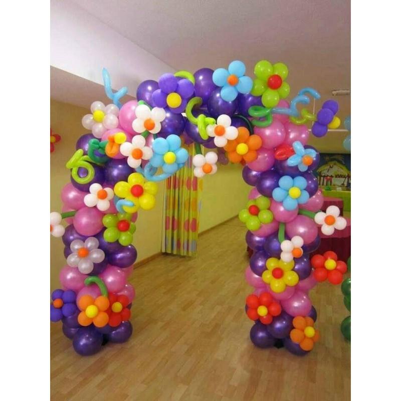 Оформление из шаров картинки