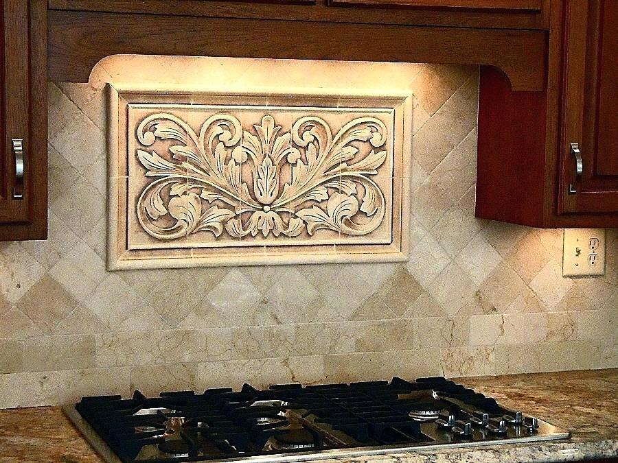 Decorative Tile Inserts Kitchen Backsplash Ruralinstituteinfo