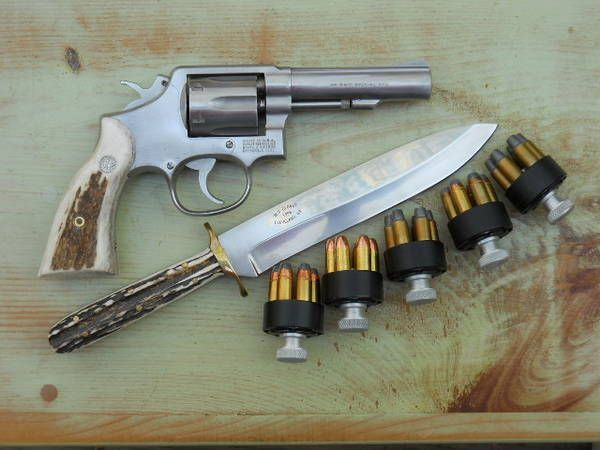 Heavy barrel S&W