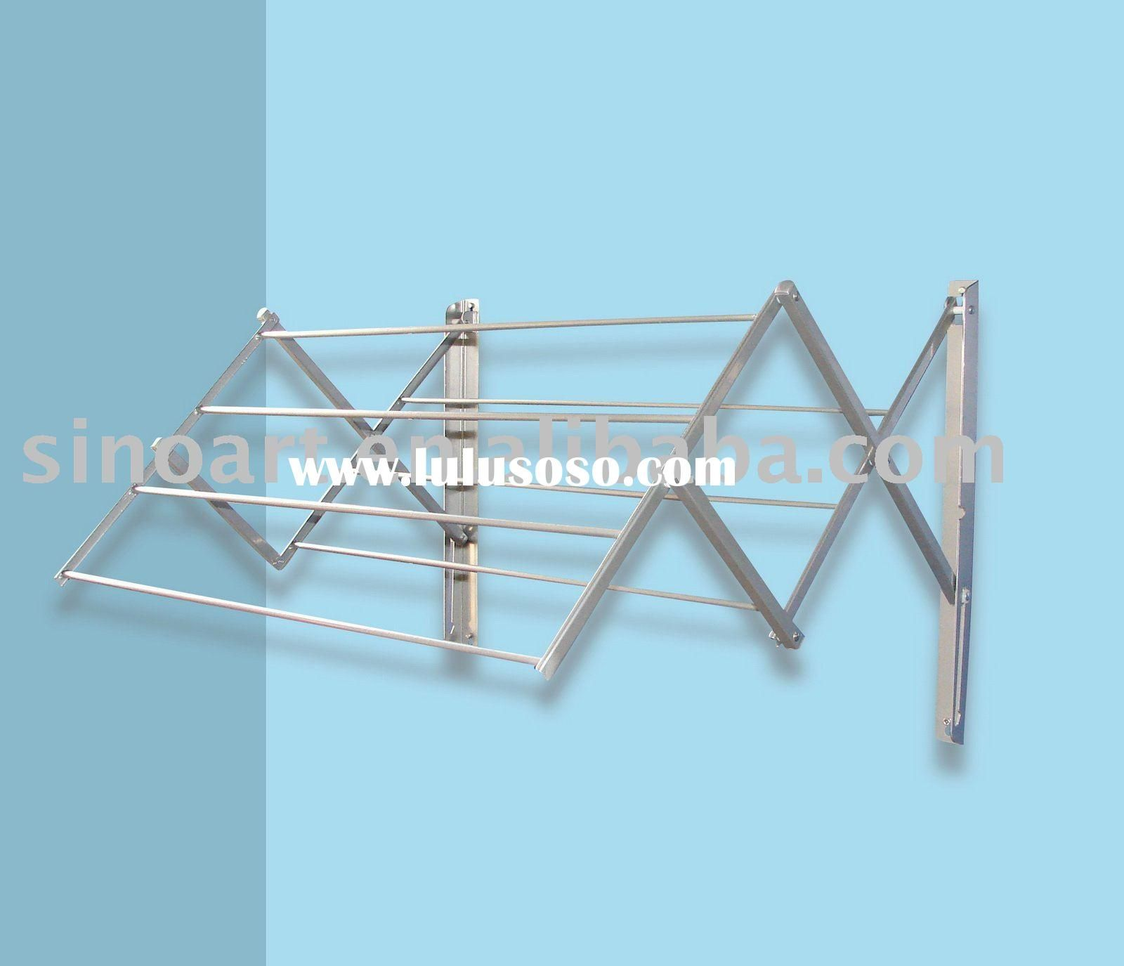 Wall Mounted Dryer Rack In 2019 Wall Drying Rack Wall