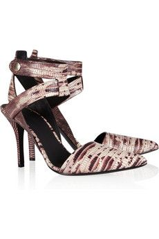 0446232ee2d0 Alexander Wang snake-effect sandals. My favorite shoes from the fall  collections.
