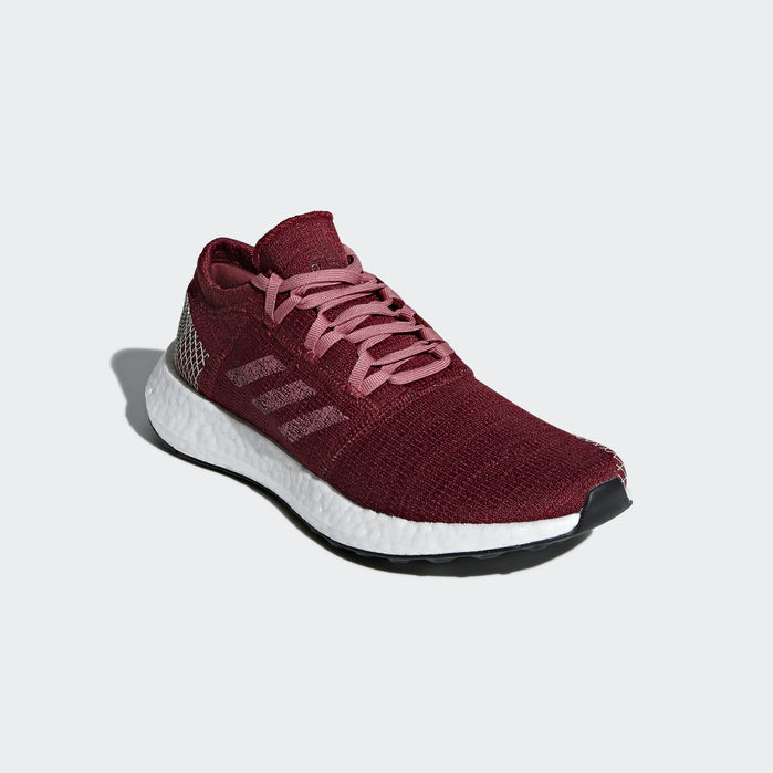 3699d039550f5 Pureboost Go Shoes Maroon 10.5 Womens Burgundy Aesthetic