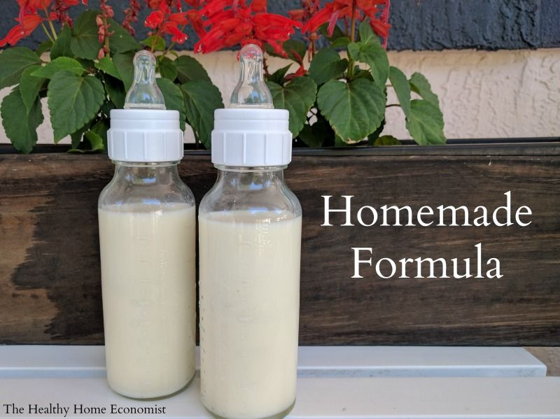 Homemade Baby Formula Recipe Video Healthy Home Economist Recipe Baby Food Recipes Homemade Baby Formula Formula Recipes