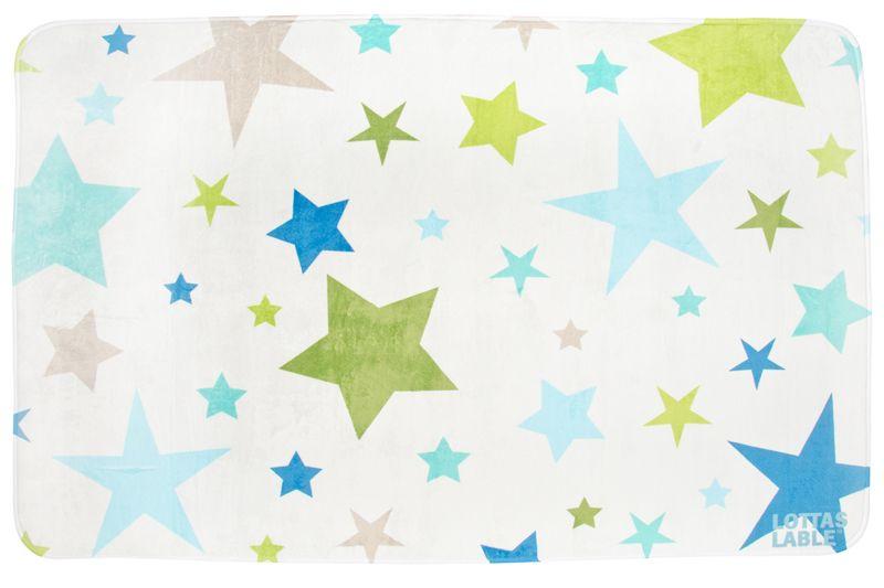 Villa-Sternenstaub Teppich Softie Partysterne 130x190 cm - teppich für küche