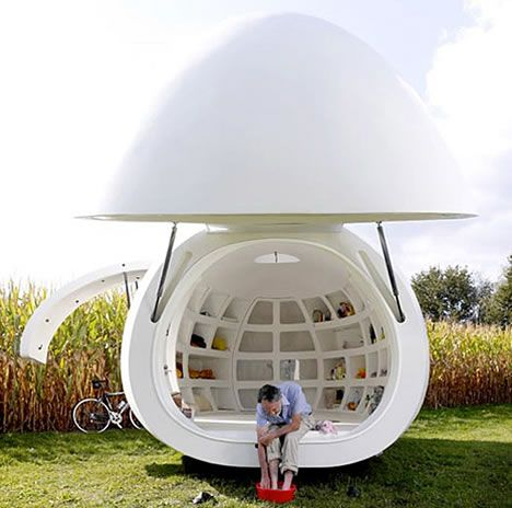 39+ Egg shaped pod house ideas in 2021