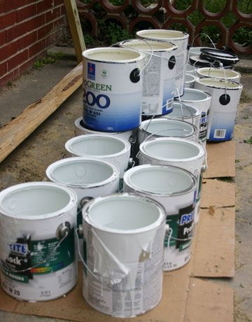 How To Dispose Of Used Paint Disposing Of Paint Recycling