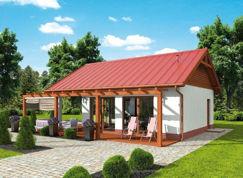 Projekt Budynku Gospodarczego Kl12 Kuchnia Letnia Bud Gospodarczy Wycena Budowy Projekty Domow Kreodom Pl