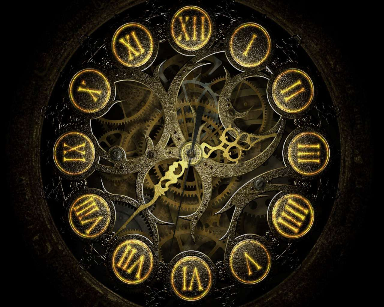 Broken clock wallpaper  To live…to live would be an awfully big adventure."