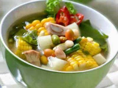 Resep Sayur Asem Betawi Resep Masakan Masakan Resep Makanan Sehat