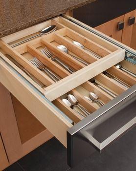 Cutlery Tray Drawer Insert Kitchen Accessories Kitchen Drawers