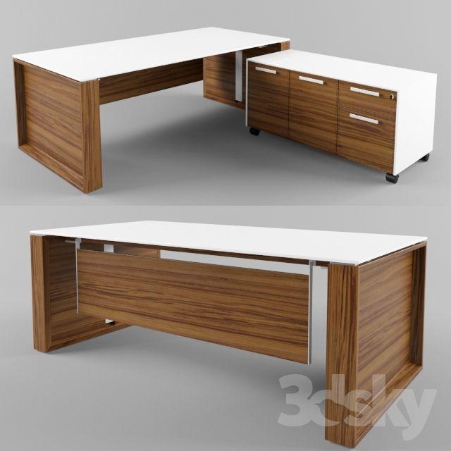 3d Models Office Furniture Bralco Executive Arche Muebles De Oficina Modernos Escritorio De Oficina Moderno Oficinas De Diseno