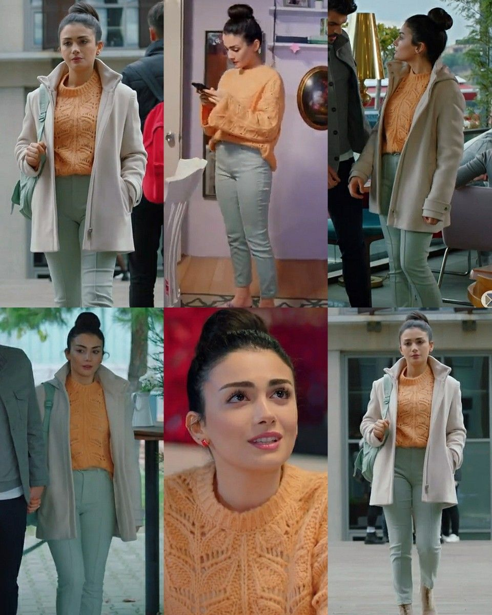 Serra 5 Episode Sol Yanim Tv Show Outfits Casual Winter Outfits Girl Outfits