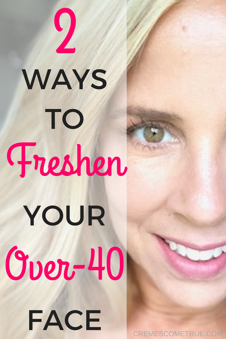 Two Easy Ways To Freshen Your Over-12 Face  Beauty over 12, Best