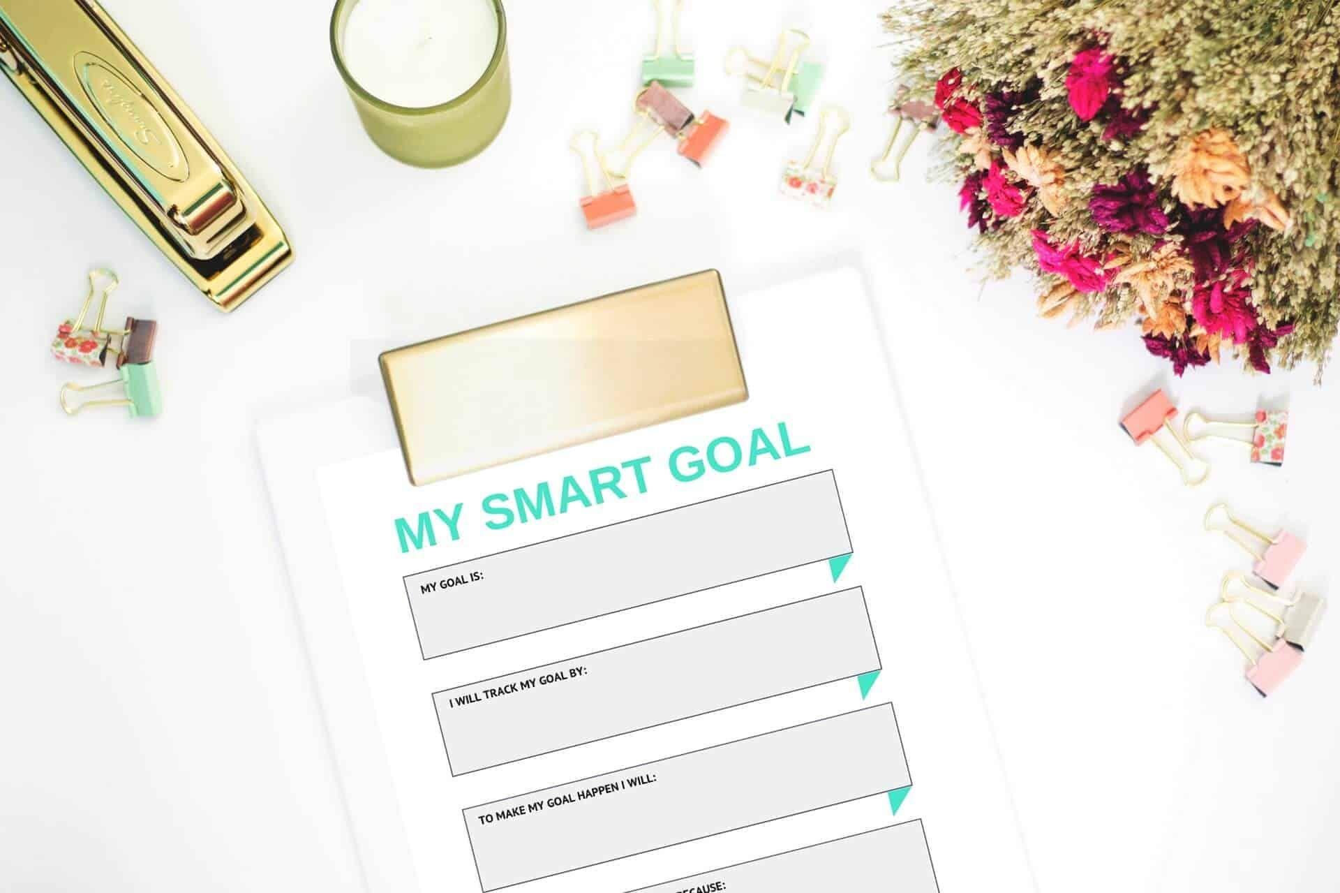 Smart Goal Setting For Kids Free Worksheet In
