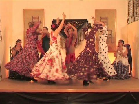 Aprende A Bailar Sevillanas Parte 8 Gratis Curso De Sevillanas Completo Paso A Paso Aprender A Bailar Baile Vídeos De Baile