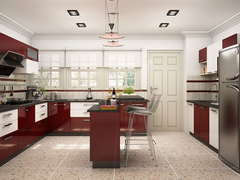 muscari u shaped island modular kitchen u shapedmodularkitchen u shapedkitchendesign on u kitchen with island id=78948