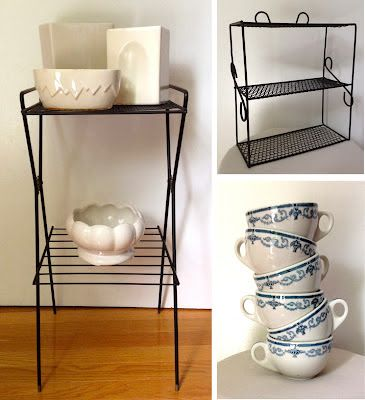 Vintage White Pottery, McCoy?  ~ Mary Walds Place - I Love Collecting