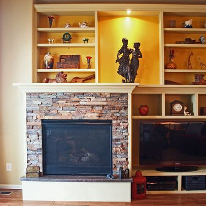 Off Center Fireplace Design Ideas, Pictures, Remodel, And Decor   Page 3