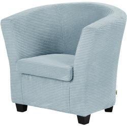 smart Sessel Jane - blau - 79 cm - 77 cm - 69 cm - Polstermöbel > Sessel > Cocktailsessel