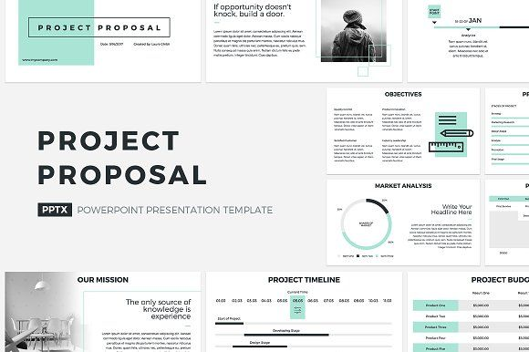 Project Proposal Powerpoint Template Project Proposal Template