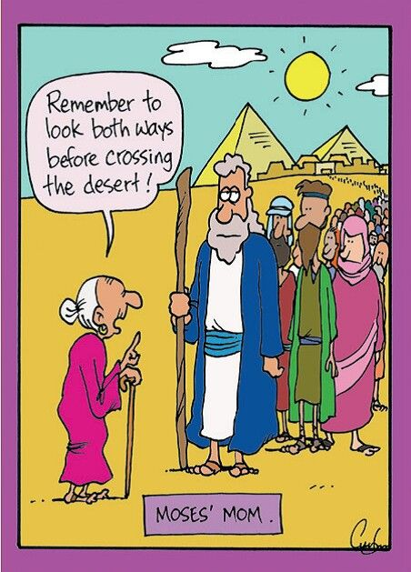 Moses's Mother | Inherit the Mirth | Christian comics ...