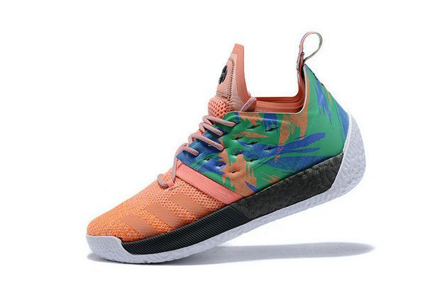 098ef1ac5527a0 Discount Adidas Harden Vol 2 Melon AH2219 Grey Red Brand sneaker ...