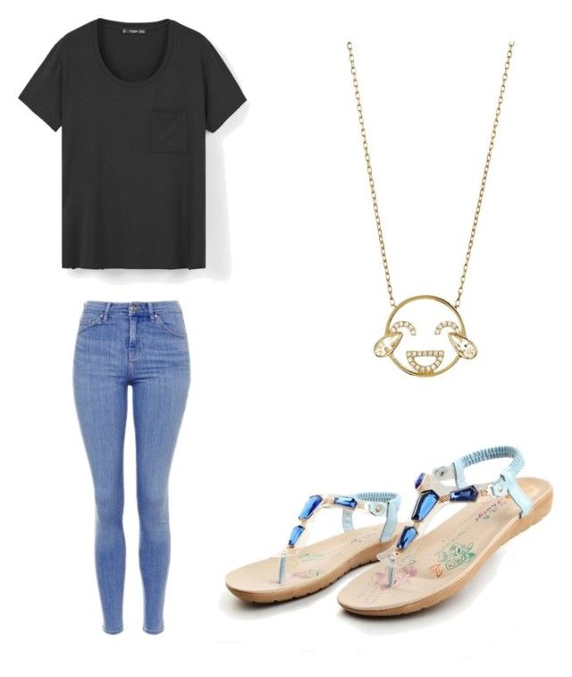 """""""70"""" by zsmiles ❤ liked on Polyvore featuring Topshop, MANGO and Ruifier"""