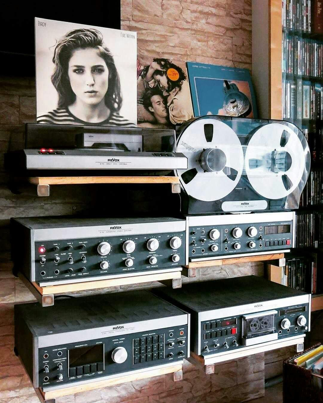 Vintage Revox Setup and Vinyl Love ❤