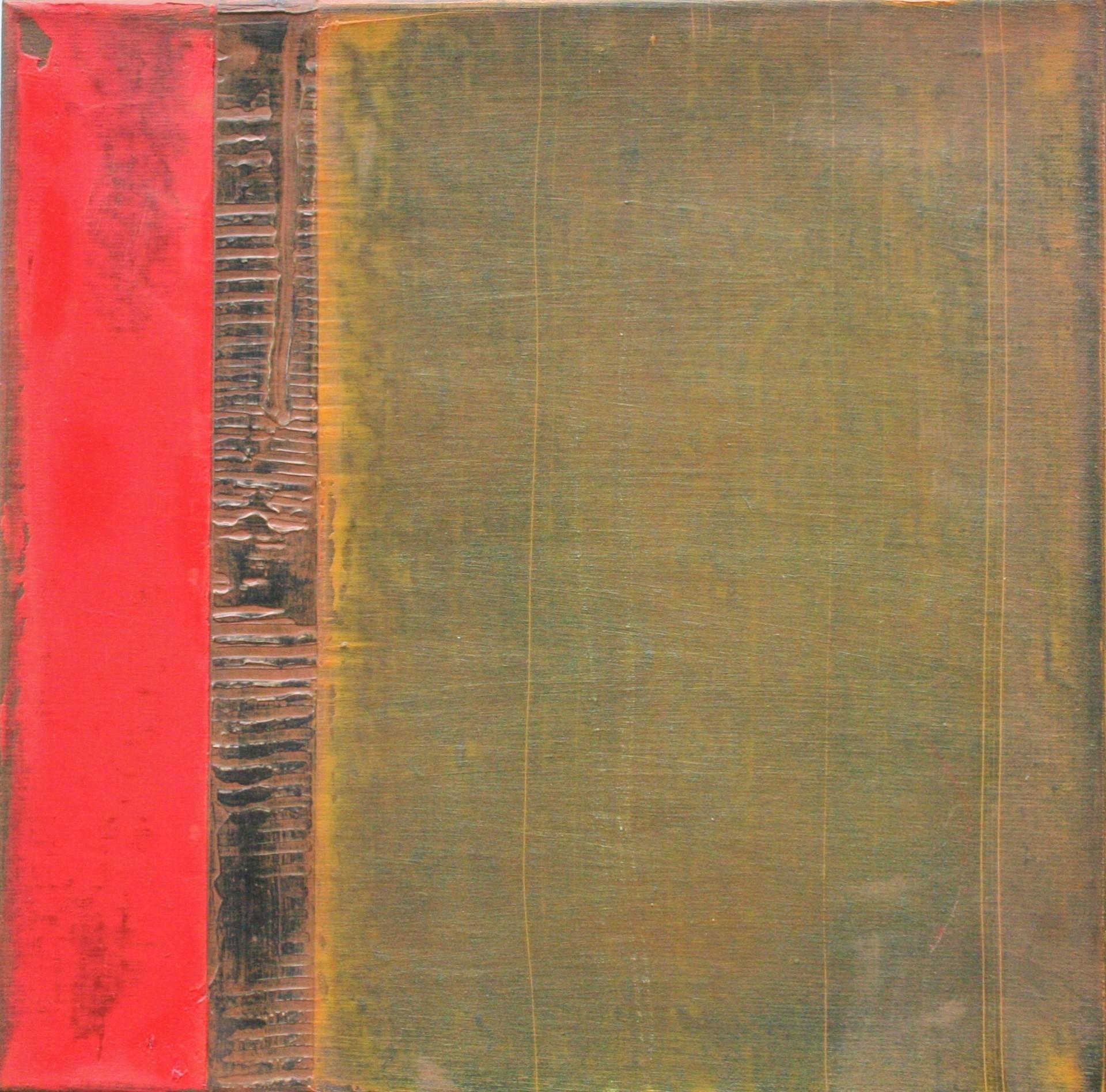"Paul Van Rij; Oil 2013 Painting ""Structures 23"""