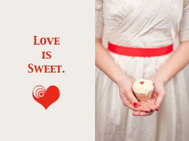Cupcake romantico
