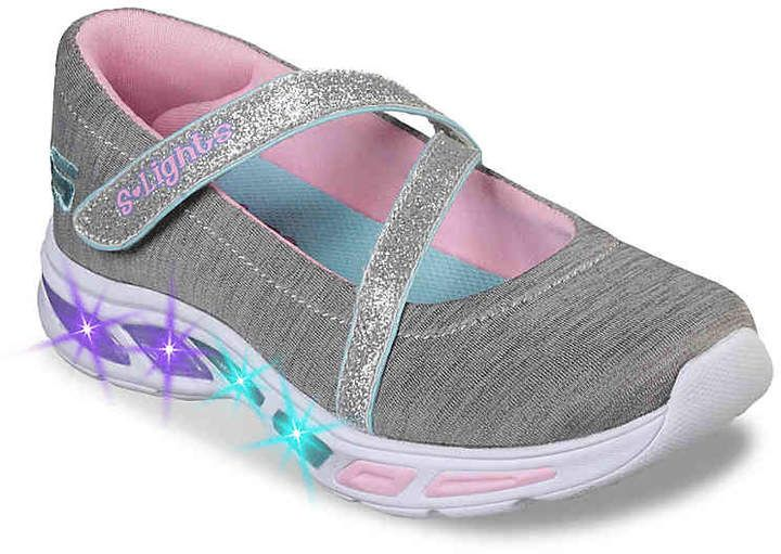 Skechers S Lights Lite Beams Spin N Sparkle Toddler & Youth