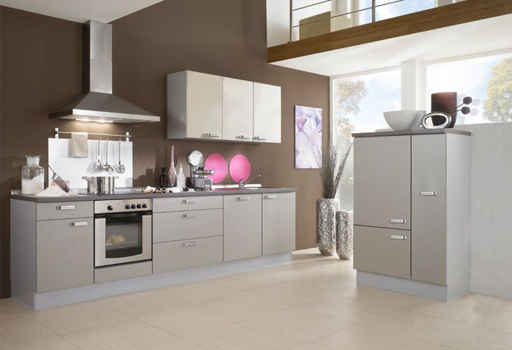 Küche in grau küchenzeile singleküche www dyk360 kuechen de küchenzeilen pinterest graue küchen küchenzeilen und singleküche
