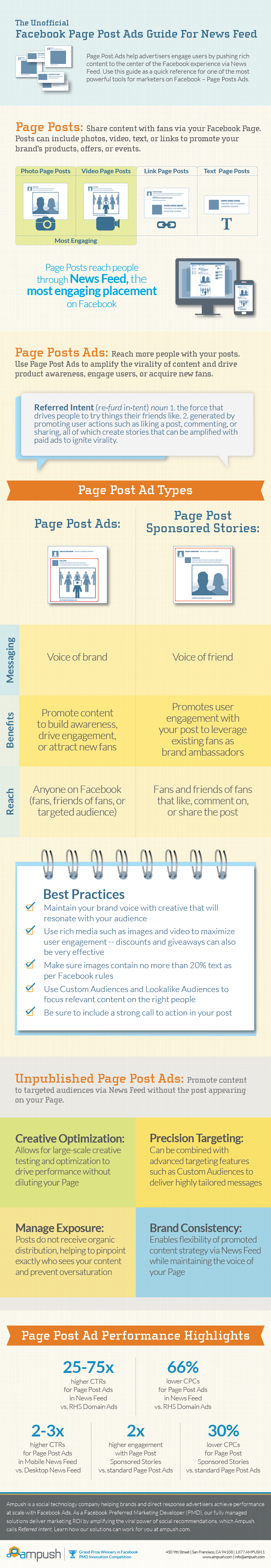 Infographic: A Guide To Facebook Page Post Ads | Facebook