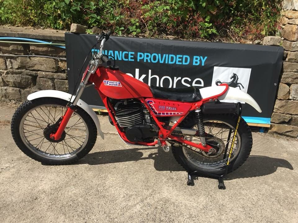 FANTIC 200CC TRIALS BIKE | Classic Trials Bikes | Classic