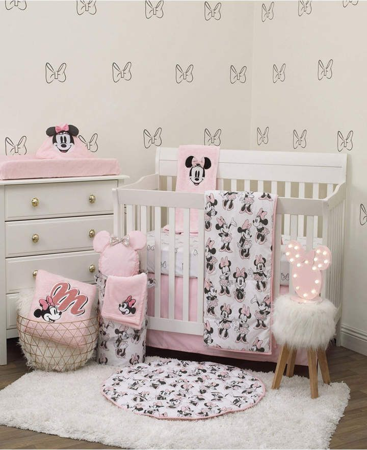 Disney Minnie Mouse 6 Piece Crib Bedding Set Reviews Bedding