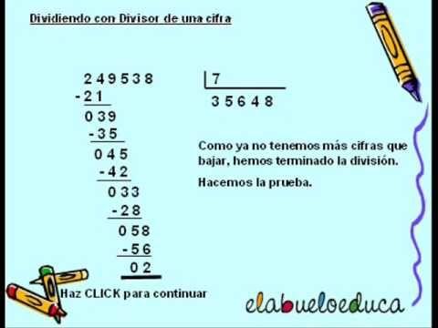 Aprende A Dividir Divisiones Matematicas Material Didactico Matematicas Actividades Emociones