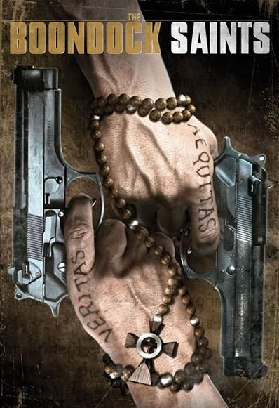 CRIME MOVIE POSTER Boondock Saints Movie Poster Veritas