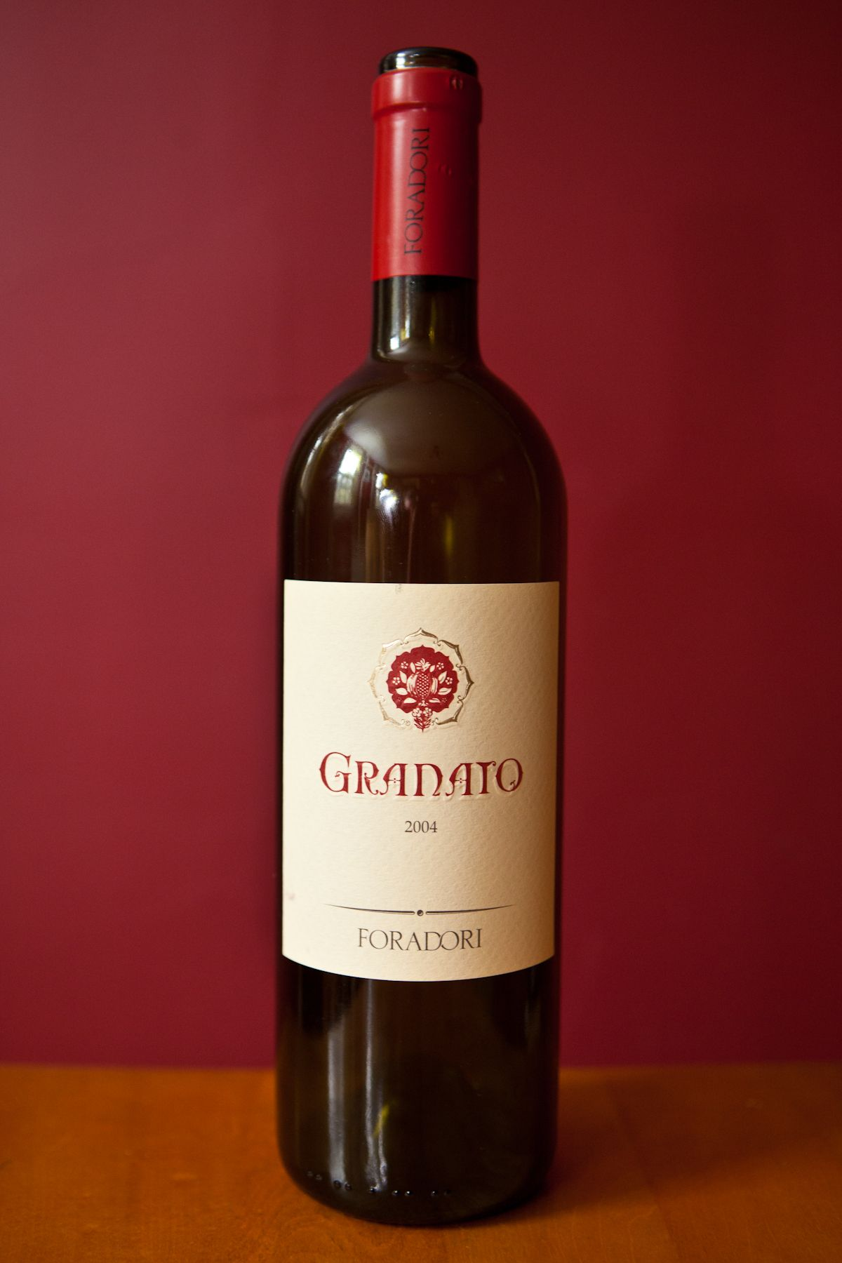 Granato Foradori Organic Wine Wines Wine Bottle